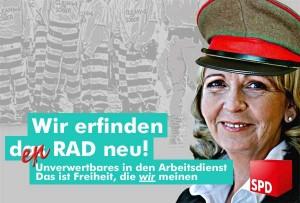 Gemeinwohlarbeit: CDU und Linke schimpfen über Krafts Hartz-IV-Vorstoß