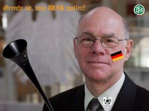 Bundestag pausiert wegen Länderspiel!
